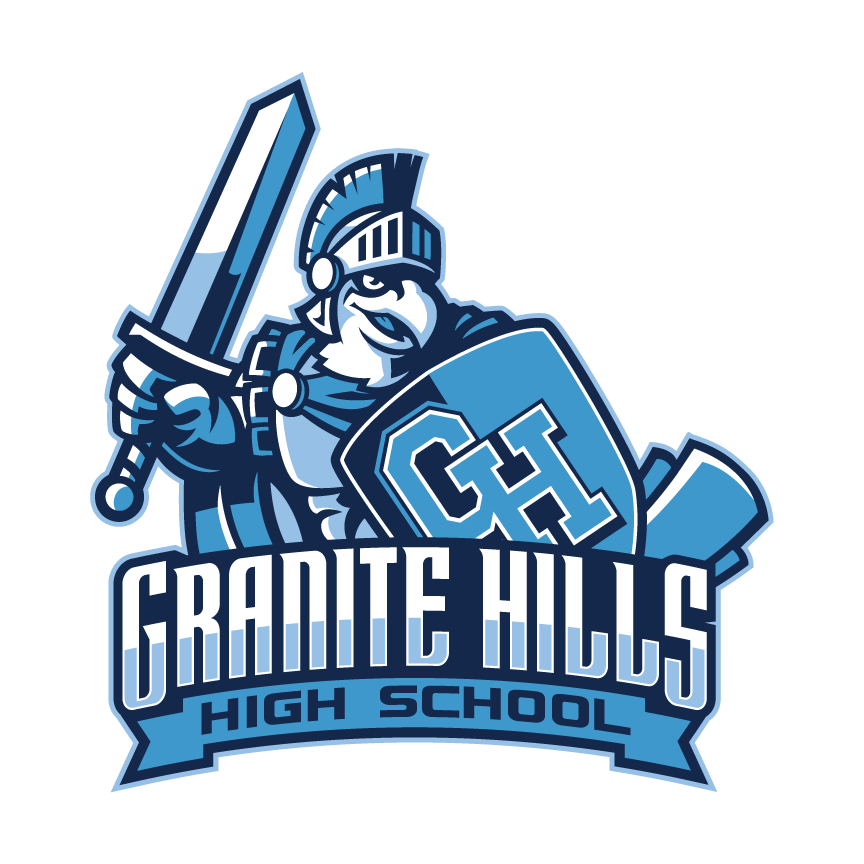 Granite Hills<br/>High School Logo