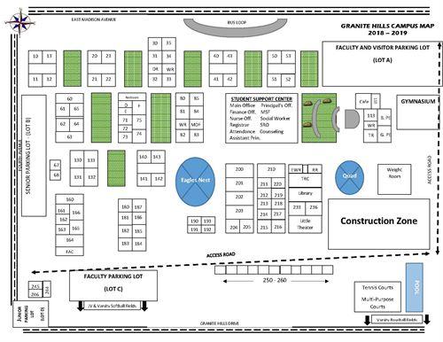 Granite Hills High School Campus Map